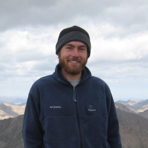 Me standing on top of Mt. Elbert